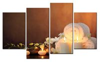 SmartWallArt@ -4 Piece Wall Art Painting SPA Picture On ...
