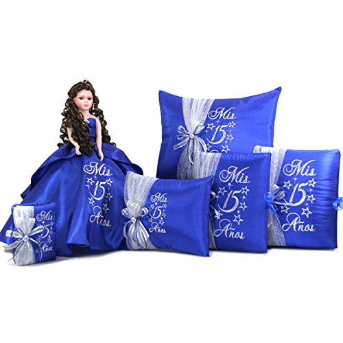quinceanera sweet 15 party favor doll set q1002 add arch to doll with spanish bible
