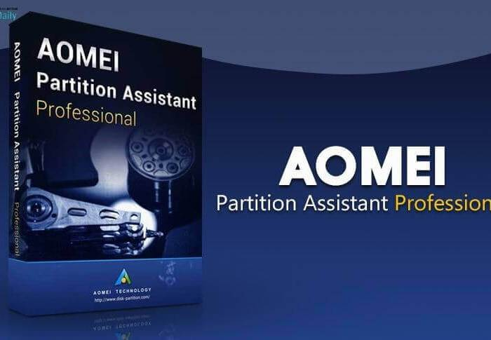 AOMEI Partition Assistant 9.4 Crack & Serial Key