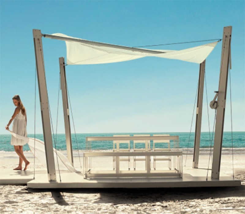 Kok Maison sofa de 3 plazas en rattan modelo grey kooboo  WOW Design Showroom  Venta de