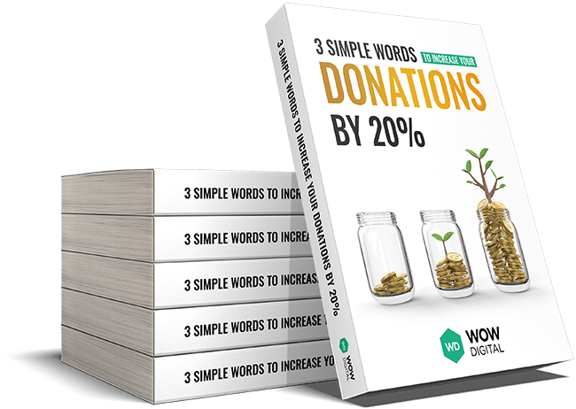 Increase donations to your non-profit by 20% ebook