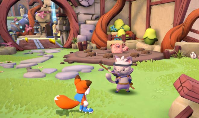 Game Super Lucky's Tale