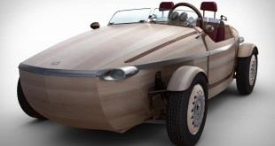 Toyota Sestina Wooden Electric Car