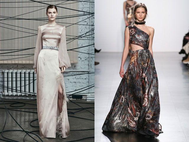 1c7029078c30 Сложно придумать лучшей фактуры для вечерних нарядов. Независимо от того,  короткое это вечернее платье, средней длины и или в пол, смотрится модели  из ...