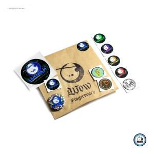 Adesivo Pack Wow Logos