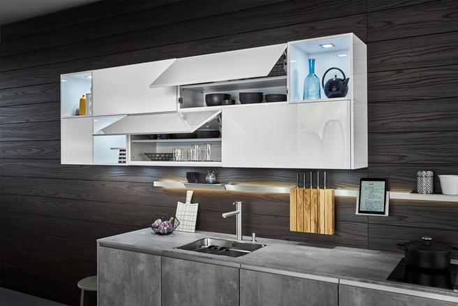 延展不對稱的線性美學!德國廚具品牌LEICHT打破以往常規廚房空間 | La Vie