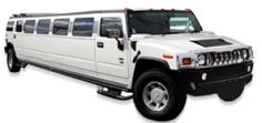 CT Hummer Limousine White