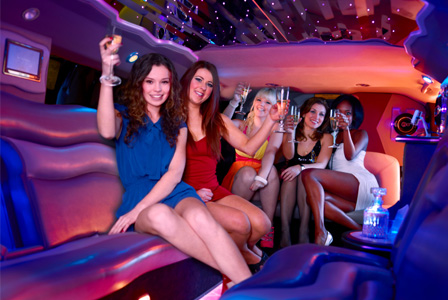 Out WIth The Girls Wow Limousine picture
