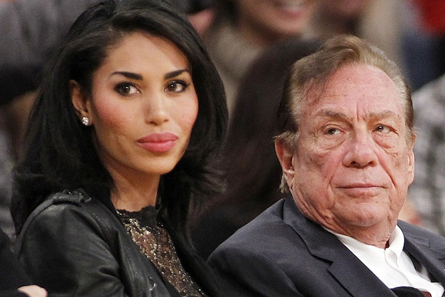 Donald Sterling And Lady Confidant Stiviano image
