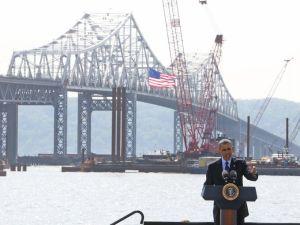 Wow Limousine Tappan Zee Bridge Obama image