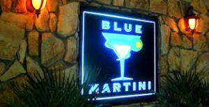 Boca Raton Limousine Blue Martini