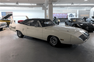 70 Plymouth Superbird White