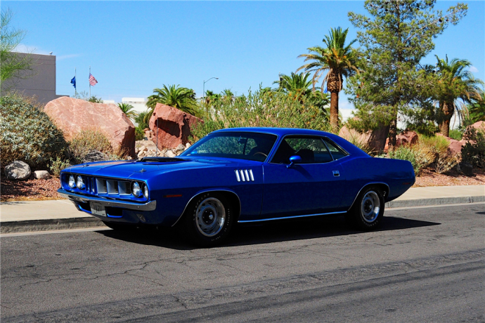 1971 Plymouth Hemi Cuda Recently Sold For 396000