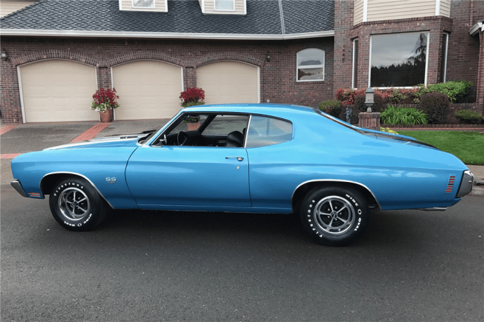 1970 Chevrolet Chevelle LS6 side