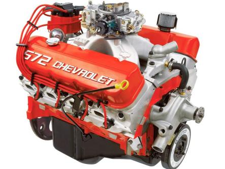 The Chevrolet Big Block V8 Engine 572 ci