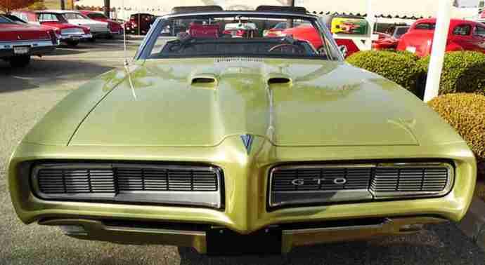 1968 Pontiac GTO Convertible Green