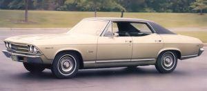 A 1969 Chevrolet Chevelle Sedan