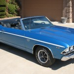1969 Chevelle SS 396 convertible Blue