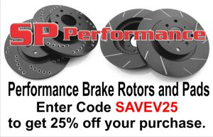 SP Performance Rotors And Pads