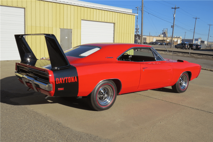 1969-Dodge-1969 Dodge Charger Daytona Red