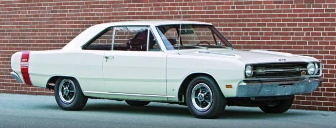 1969 Dodge Dart Swinger White