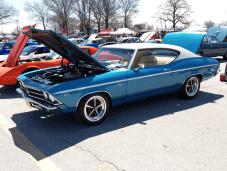 1969 Chevelle SS Blue S