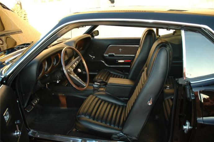1969 Ford Mustang Boss 429 Fastback Black Interior