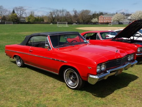 Red Buick Convertible