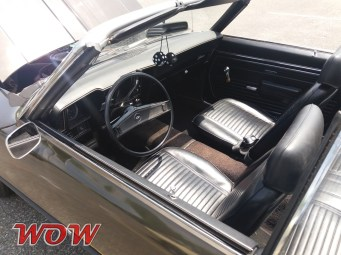 1969 Chevrolet Camaro Convertible 302 Interior