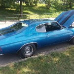 Blue 1970 Chevy Chevelle SS