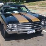 Black1970 Chevrolet Chevelle SS