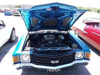 1971 Chevrolet Chevelle SS Engine Bay