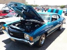 1971 Chevrolet Chevelle SS Blue