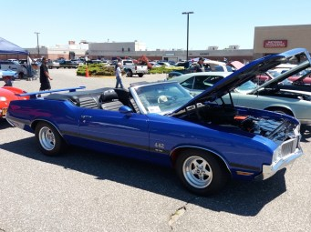 1970 Oldsmobile 442 Convertible - Blue