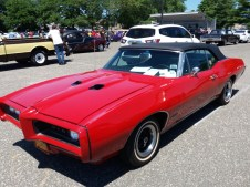 1968 Pontiac GTO Convertible - Left Side
