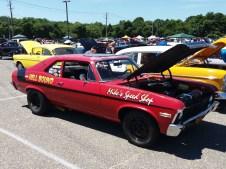 1969 Chevy Nova Red