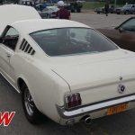 1965 Ford Mustang Fastback White - Rear