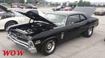 Black 1969 Chevrolet Nova SS 396