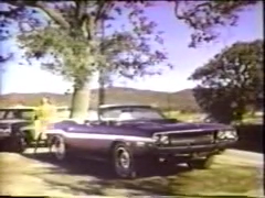 1970 Dodge Challenger R/T Convertible TV Commercial - 2