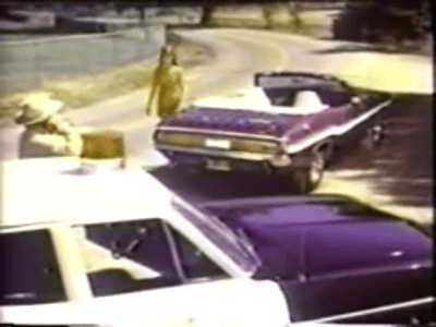 1970 Dodge Challenger R T Convertible Tv Commercial Wow Muscle