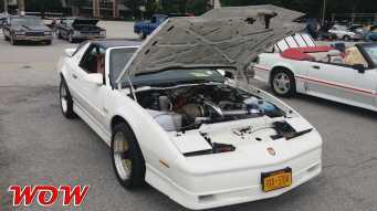 White 1989 Pontiac Trans Am Turbo