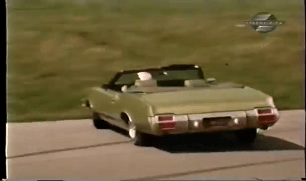 1971 Oldsmobile 442 Convertible W30 Spin