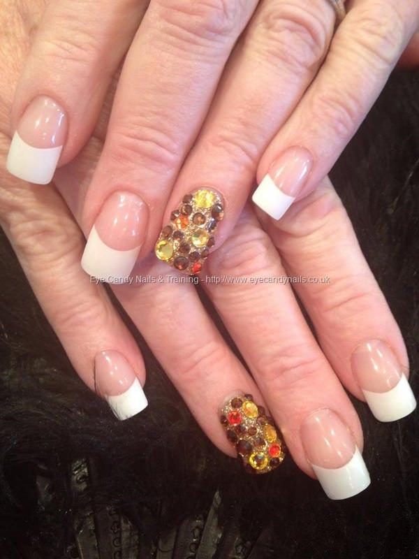 Blended Nails : blended, nails, White, Blended, Nails, Manicure, Trends