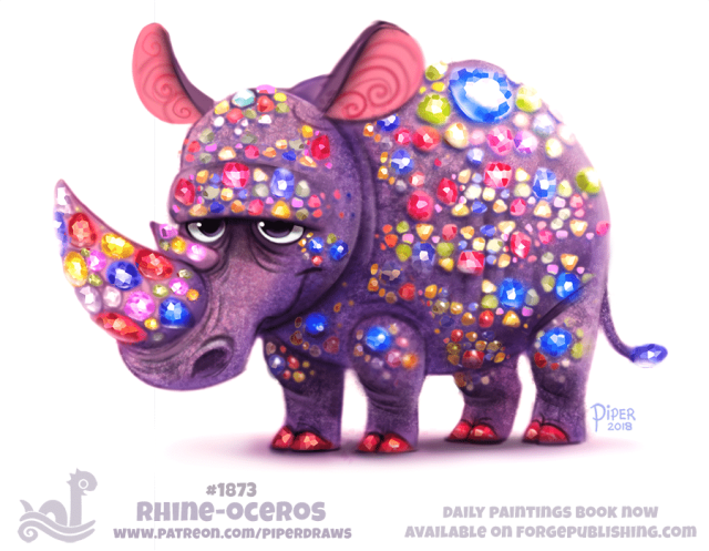 rhinoceros digital artwork