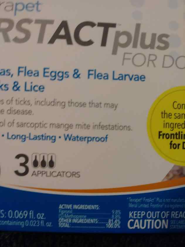 TevraPet FirstAct Plus box