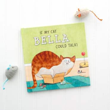 If My Cat Could Talk Personalized Storybook cover