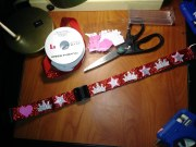 How to make a fancy dog collar for under $10 and in about 20 minutes