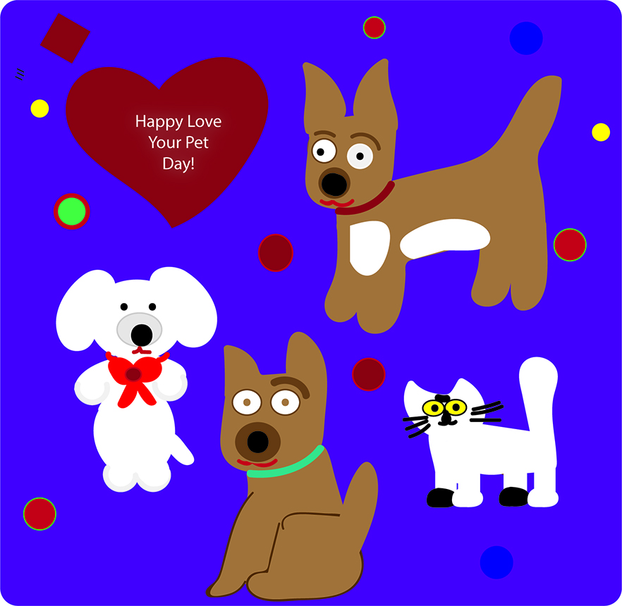 Love your pet graphic