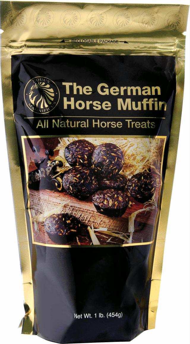 German Horse Muffin package