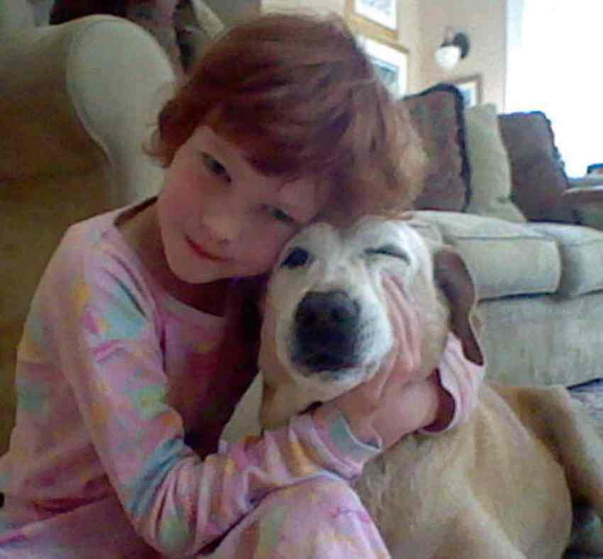 Catherine Hubbard and dog Sammy